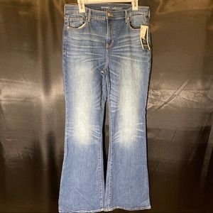Old Navy, Flare Jeans, Size 12